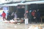 Chợ Phủ Lý tan hoang sau đám cháy, thiệt hại gần 300 gian hàng