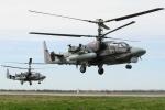 Video: Trực thăng chiến đấu Nga Ka-52 'khạc đạn' ở Syria