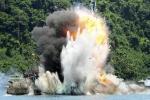Indonesia đánh chìm hơn 10 tàu cá Việt Nam