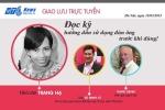 Đang giao lưu trực tuyến với nhà văn Trang Hạ: Đọc kỹ hướng dẫn sử dụng đàn ông trước khi dùng!