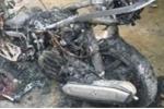 Cháy xe AirBlade ở Quảng Bình: Chủ xe đốt để trốn nợ