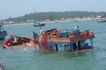 Nghi vấn tàu Hàn Quốc đâm chìm tàu cá của ngư dân Bình Định