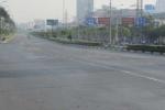 Phố phường Sài thành tĩnh lặng sáng đầu năm