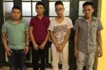 Cảnh sát tóm gọn nhóm thanh niên đua xe quanh hồ Hoàn Kiếm