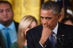 Clip: Tổng thống Obama khóc nghẹn khi đang phát biểu
