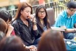 Trà Ngọc Hằng khóc như mưa tại Hà Nội