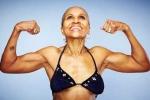 Câu chuyện thú vị về nữ lực sĩ 75 tuổi