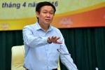 Phó Thủ tướng Vương Đình Huệ làm việc với Ngân hàng Nhà nước Việt Nam