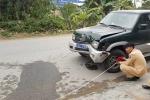 Thai phụ chết thảm dưới gầm xe biển xanh
