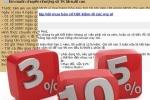 Rao bán lại cả sổ tiết kiệm lãi suất cao