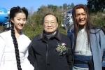 Lưu Diệc Phi, Huỳnh Hiểu Minh mừng thọ Kim Dung 92 tuổi