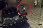 Clip: Cướp táo tợn ném gạch đập vỡ cửa kính ôtô, giật túi xách