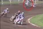 Clip: Khiếp hồn môtô không người lái nhảy múa điên dại trên đường đua