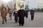 Ông Kim Jong-un thị sát  tổ hợp khoa học-công nghệ hiện đại của Triều Tiên