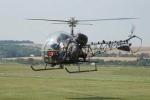 Xem 'chuồn chuồn' Bell-47 khai hỏa