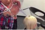 Clip: Kinh ngạc với tài 'múa kéo' cực đỉnh của anh thợ cắt tóc