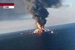Video vụ nổ dàn khoan dầu mới nhất trên vịnh Mexico