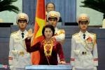 Clip: Tân Chủ tịch Quốc hội Nguyễn Thị Kim Ngân tuyên thệ trước Quốc hội