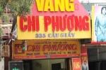 Hà Nội: Trộm vàng táo tợn trước ống kính camera