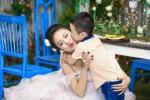 Mùa Vu lan: Tình mẫu tử thiêng liêng của mẹ con sao Việt