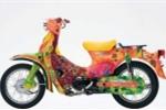 Ngắm Honda Cub 50 sơn độc
