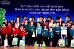 Vinamilk và quỹ sữa vươn cao Việt Nam đến với trẻ em tỉnh Lâm Đồng