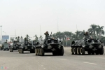 Ngắm dàn xe chống khủng bố tham gia bảo vệ Đại hội Đảng