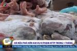 Rợn người thực phẩm bẩn tràn lan Hà Nội