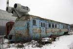 Cận cảnh siêu tàu hỏa từ thời Liên Xô bị bỏ hoang