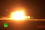 Video: Máy bay ném bom Tu-95 của Nga nổ ngay trên đường băng
