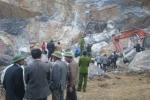 Sập mỏ đá ở Thanh Hoá: Đưa thêm một thi thể nạn nhân ra ngoài