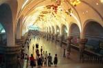 Bên trong nhà ga điện ngầm bí ẩn nhất Triều Tiên