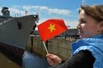 Nga hạ thủy tàu Gepard 3.9 thứ tư của Việt Nam