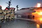 Sau thảm họa MH370, một máy bay Malaysia khác bốc cháy
