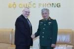 Việt - Mỹ bắt tay thúc đẩy quan hệ công nghiệp quốc phòng