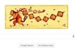 Google Doodle tung ảnh khỉ đón năm mới Bính Thân