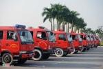 Xem dàn xe PCCC hiện đại nhất Hà Nội diễu hành