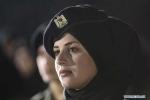 Nữ sinh An ninh Palestine rạng rỡ trong ngày tốt nghiệp