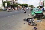 Chở người cấp cứu, taxi Mai Linh gây tai nạn liên hoàn