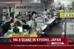 Clip: Động đất rung chuyển Nhật Bản, hàng trăm người thương vong