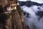 Kỳ lạ những đền thờ 'treo' trên vách núi