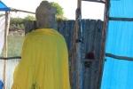 Phát hiện tượng Phật cổ giữa 'Cánh đồng chó ngáp'