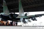 Cận cảnh 'hổ mang chúa' Su-30MK2 của không quân Việt Nam