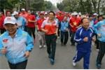 Phó Thủ tướng Vũ Đức Đam hưởng ứng ngày chạy Olympic