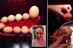 Clip: Ngỡ ngàng hiện tượng 'trứng trong trứng' cực hiếm gặp