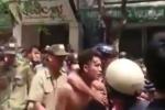 Gây tai nạn rồi bỏ chạy, tài xế taxi bị người dân vây đánh