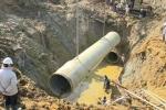 Truy tố 9 bị can vụ vỡ đường ống dẫn nước sông Đà