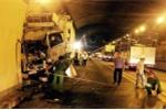 Tai nạn kinh hoàng trong hầm Hải Vân: Cứu sống tài xế bị vỡ tim