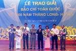 VTC News nhận giải cao nhất viết về 1000 năm Thăng Long