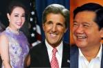 Uyên Linh hát trong tiệc Bí thư Đinh La Thăng đón Ngoại trưởng Mỹ